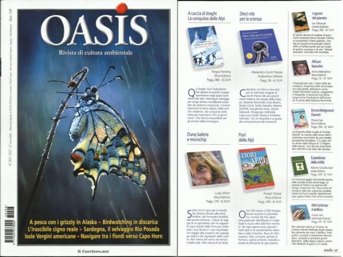 recensione rivista Oasis