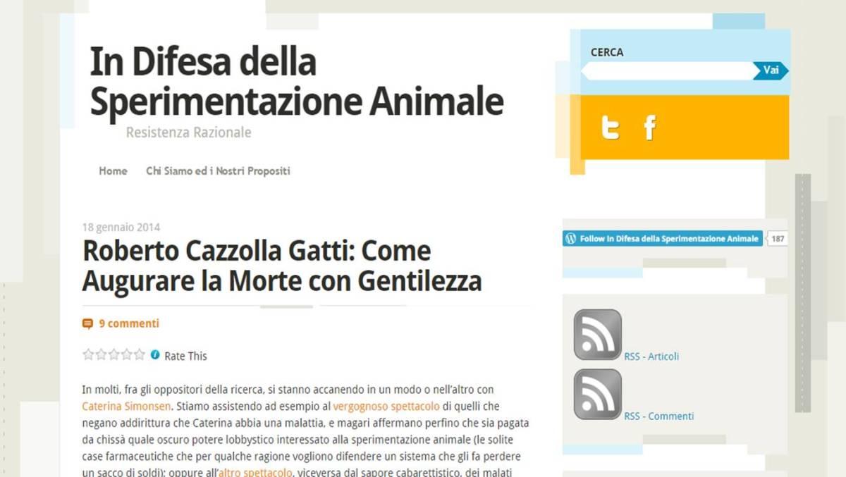 In difesa della sperimentazione animale: la banalità del male