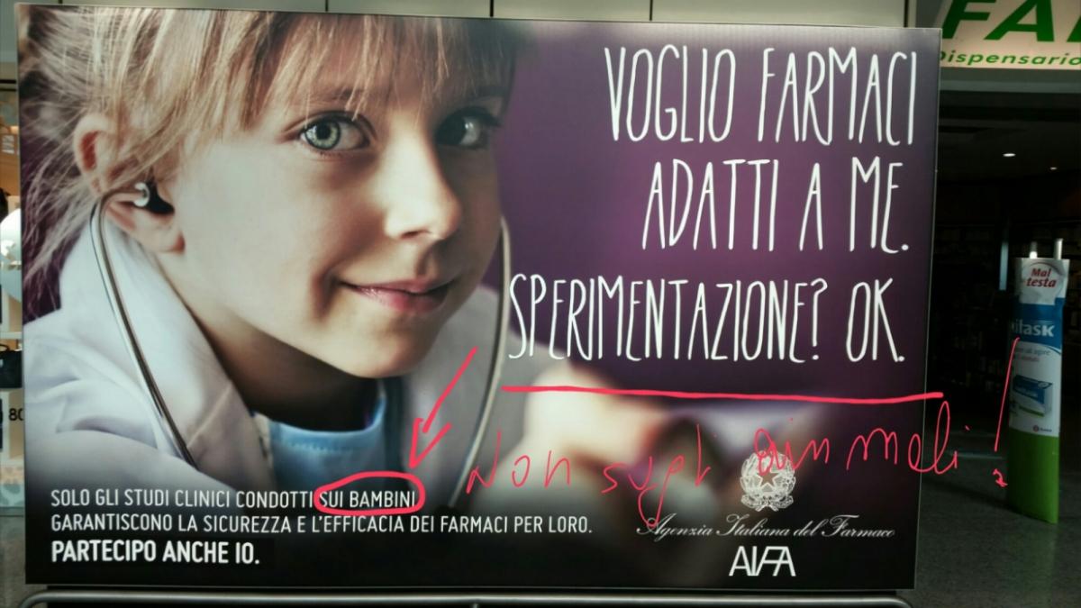 L'Agenzia Italiana del Farmaco conferma l'inaffidabilità della sperimentazione animale!