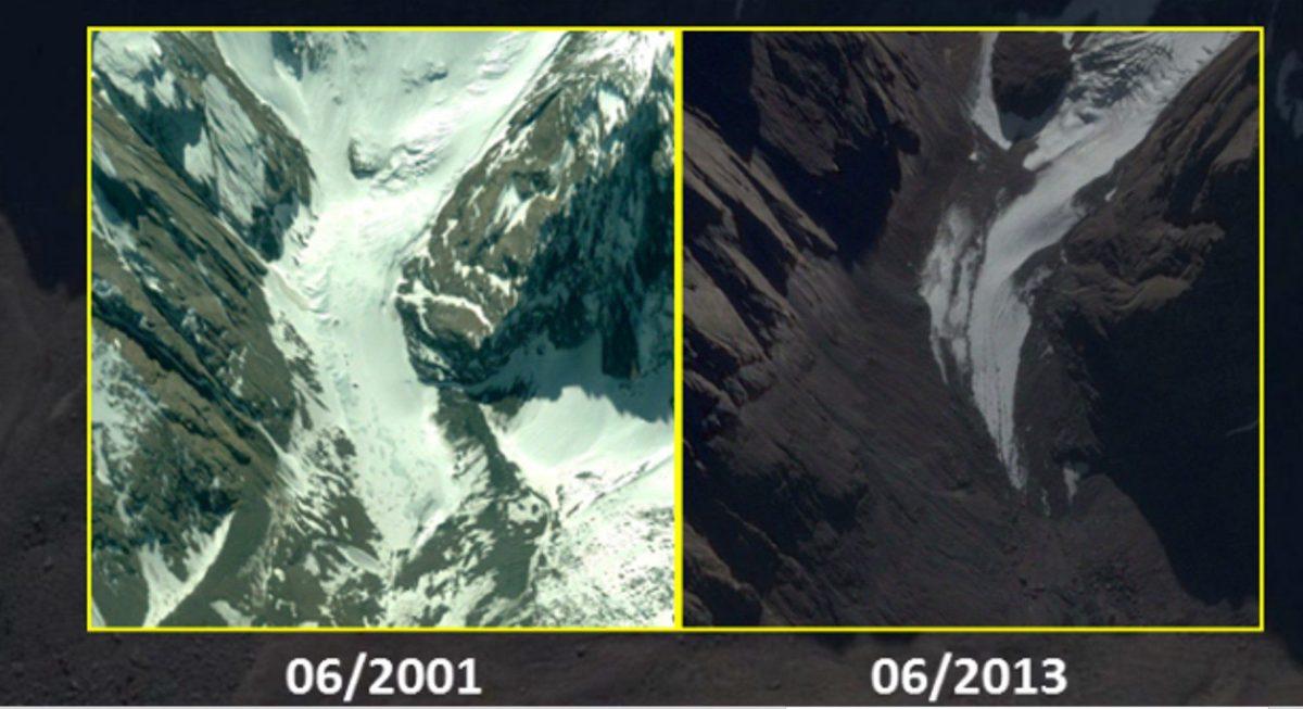 Scalare montagne senza ghiacciai nell'epoca dei mutamenti climatici